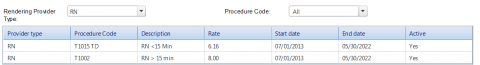 Office Visit Billing Template example screenshot – entering even more information