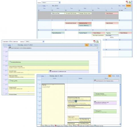 Scheduling Calendar screenshot