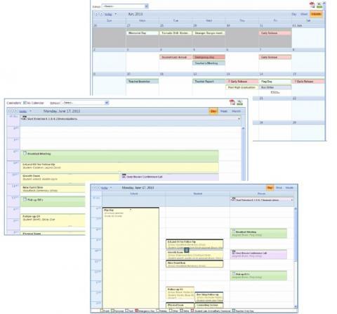 Scheduling Calendar screenshot